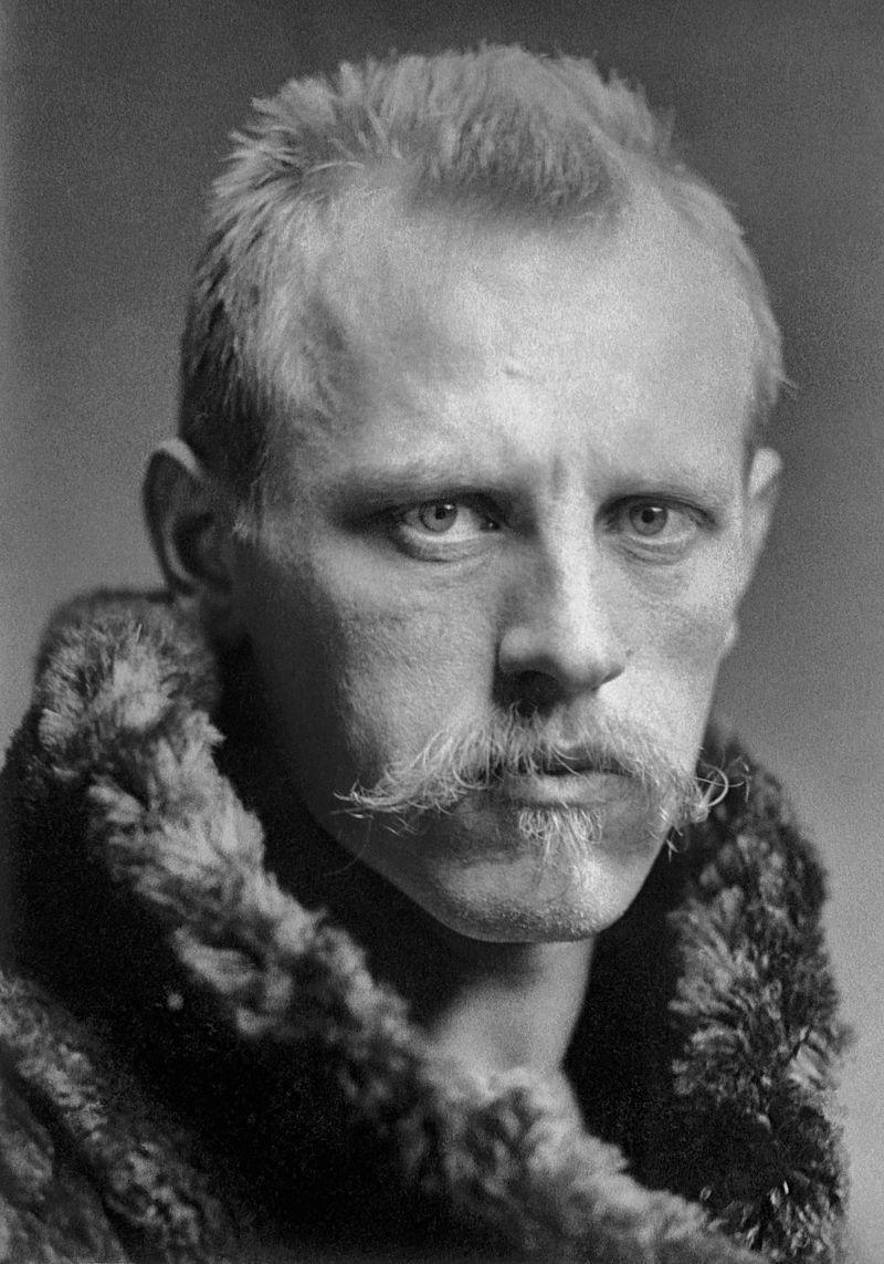 Portrætfotografi af Fridtjof Nansen