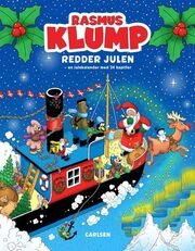 Kim Langer: Rasmus Klump redder julen : en julekalender med 24 kapitler